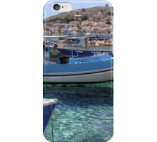 Fishing Boats in the Harbour iPhone Case/Skin