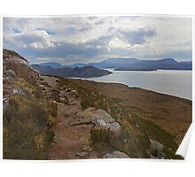 Diabaig Coastal Path Poster