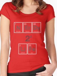 NErDy 4 LiFe  Women's Fitted Scoop T-Shirt