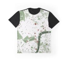 London minimal map Graphic T-Shirt