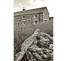 Cliff Cottage Photographic Print