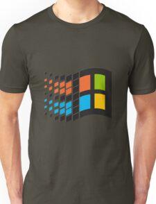 Windows 95 logo Unisex T-Shirt