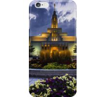 Draper Mormon Lds Temple - Utah iPhone Case/Skin