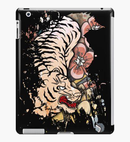 White Tiger iPad Case/Skin