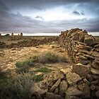 Strangways Ruins - South Australia by Stephen Permezel