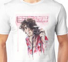 Portrait with Cigarette Unisex T-Shirt