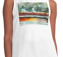 Rust and Sea Foam Contrast Tank