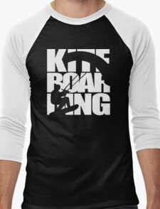 Kite Surfing Men's Baseball ¾ T-Shirt