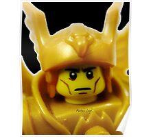 Lego Flying Warrior Poster