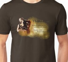 "Eorzexit - Thanaleave ""Thanalan could do better alone!"" Unisex T-Shirt"
