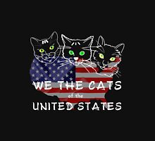 We The Cats Of The United States Dark Unisex T-Shirt