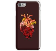 Rose tinted heart iPhone Case/Skin