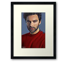 """Red Sweater"" Framed Print"