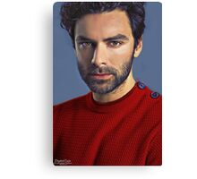 """""""Red Sweater"""" Canvas Print"""