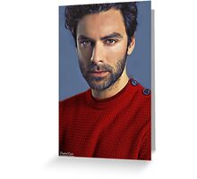 """Red Sweater"" Greeting Card"