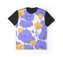 Lotus flowers pattern Graphic T-Shirt