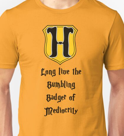 Long Live the Bumbling Badger... Unisex T-Shirt