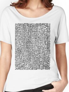 Black & White Women's Relaxed Fit T-Shirt