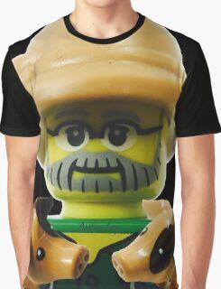 Lego Farmer minifigure Graphic T-Shirt