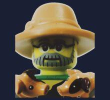 Lego Farmer minifigure One Piece - Short Sleeve