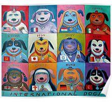 International Dogs Poster