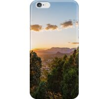 Sunset over West Sdona iPhone Case/Skin