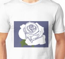 White Rose Unisex T-Shirt