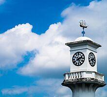 The Scott Memorial, Roath Park, Cardiff by Jimardee