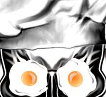 Chef Skull: Eat my eggs. Sticker