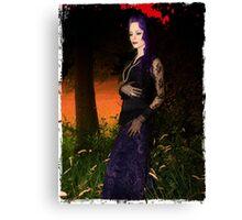 Vamp Glamour Canvas Print