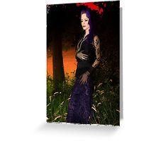 Vamp Glamour Greeting Card