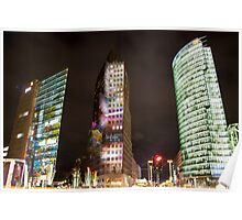 Potsdamer Platz Berlin - Festival of Lights Poster