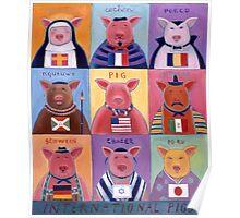 International Pigs Poster