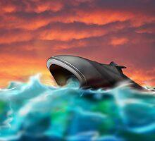 Futuristic Submarine  by Nick  Greenaway