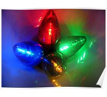 Brights Lights Of Christmas Poster