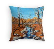Cheerful Fall Throw Pillow