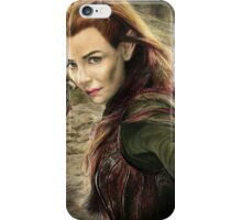 Tauriel Portrait- The Hobbit, Desolation of Smaug iPhone Case/Skin