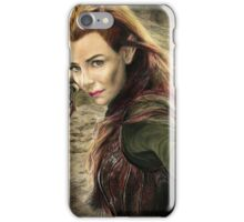 Tauriel Portrait- The Hobbit, Desolation of Smaug iPhone Case/Skin