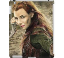 Tauriel Portrait- The Hobbit, Desolation of Smaug iPad Case/Skin