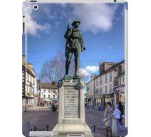 Kendal War Memorial iPad Case/Skin