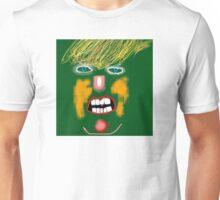 Green Donald Trump, by Roger Pickar, Goofy America Unisex T-Shirt