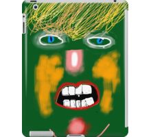 Green Donald Trump, by Roger Pickar, Goofy America iPad Case/Skin