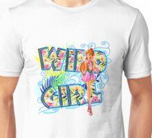 Wild Girl Bleu - Flora Unisex T-Shirt