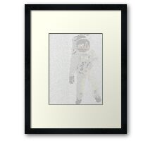 Apollo 11 Transcript Framed Print