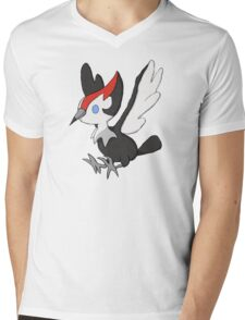 Pokemon Pikipek Mens V-Neck T-Shirt
