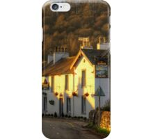 Winter Sun on the Sun Inn iPhone Case/Skin