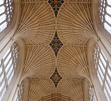 Bath Abbey by Carol Bleasdale