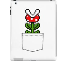 8-Bit Mario Pocket Piranha Plant iPad Case/Skin