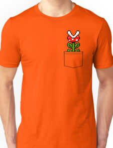 8-Bit Mario Pocket Piranha Plant Unisex T-Shirt
