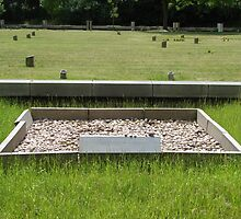 A mass grave - fort Terezín (National Suffering Memorial)  by Natas